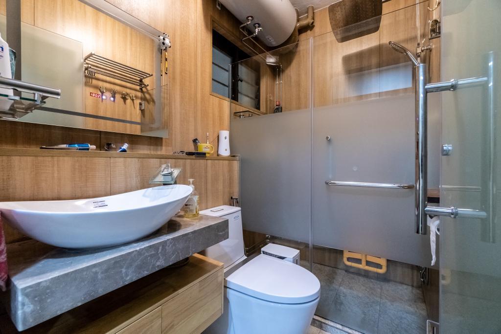 Transitional, HDB, Kitchen, Woodlands Ring Road, Interior Designer, Absolook Interior Design