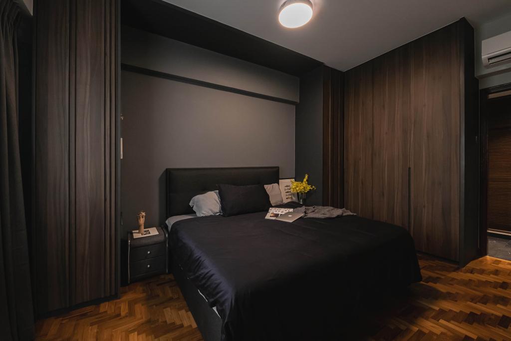 Modern, Condo, Bedroom, Castle Green, Interior Designer, Space Atelier, Contemporary