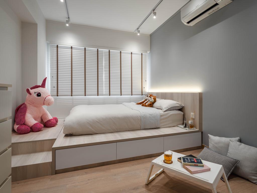 Scandinavian, HDB, Bedroom, Choa Chu Kang Central, Interior Designer, Zenith Arc