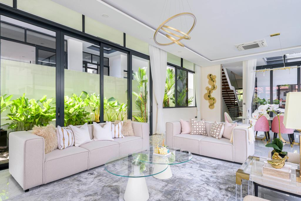 Modern, Landed, Dunsfold Drive, Interior Designer, The I-Plan Studio, Scandinavian