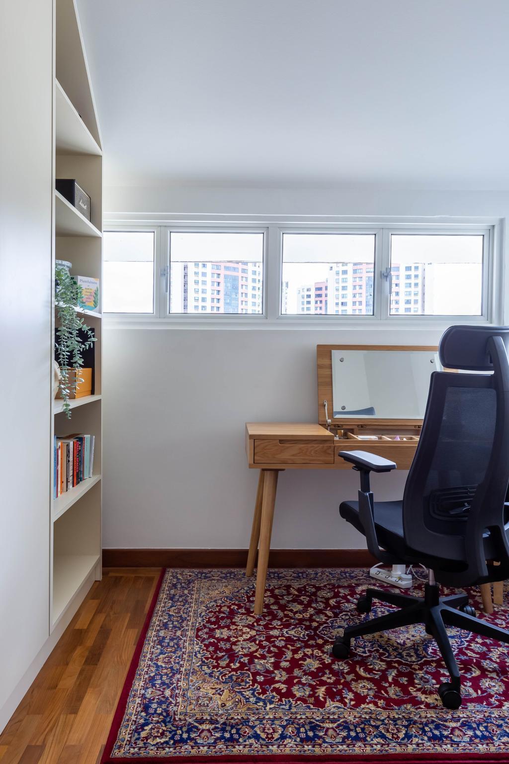 Modern, Condo, Study, Chelsea Lodge, Interior Designer, Inizio Atelier, Minimalistic