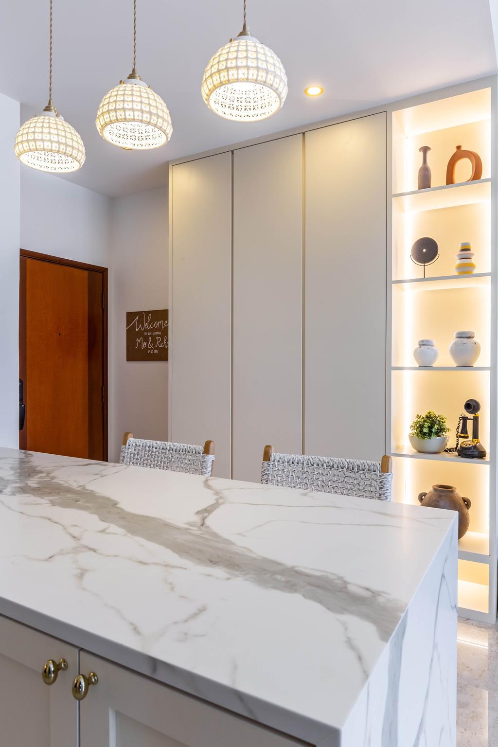 Modern, Condo, Dining Room, Chelsea Lodge, Interior Designer, Inizio Atelier, Minimalistic