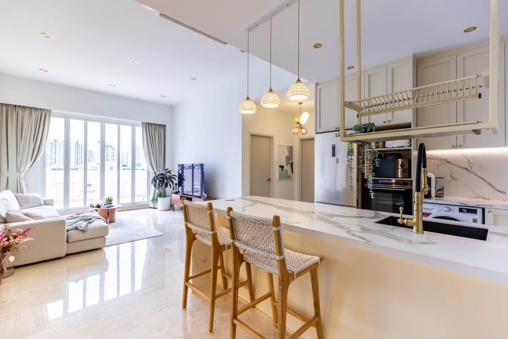 Modern, Condo, Living Room, Chelsea Lodge, Interior Designer, Inizio Atelier, Minimalistic