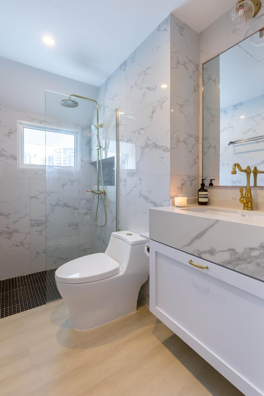 Modern, Condo, Bathroom, Chelsea Lodge, Interior Designer, Inizio Atelier, Minimalistic