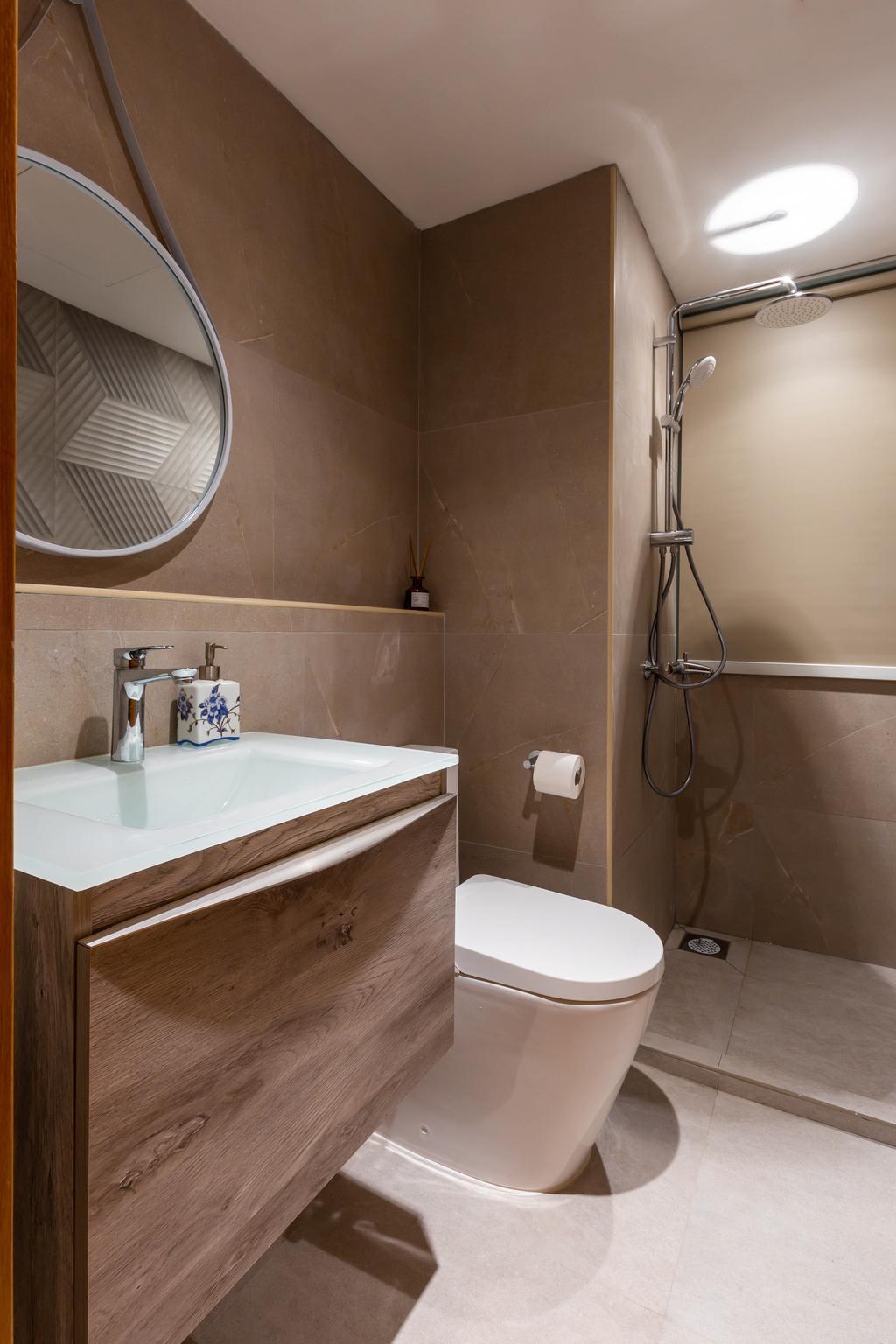 Contemporary, Condo, Bathroom, The Quartz, Interior Designer, D'Phenomenal