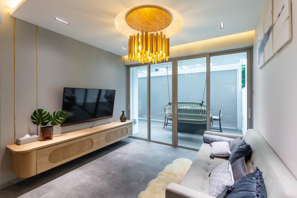 Contemporary, Condo, Living Room, The Quartz, Interior Designer, D'Phenomenal