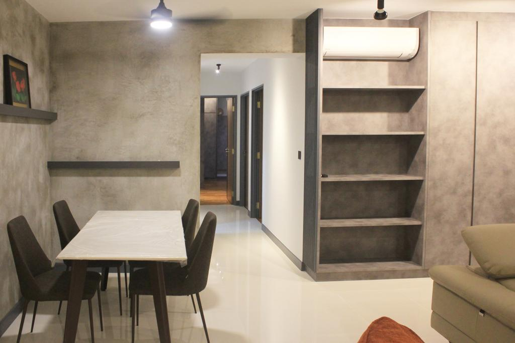 Modern, HDB, Dining Room, Sumang Walk, Interior Designer, Ngieng Spatial Design, Contemporary