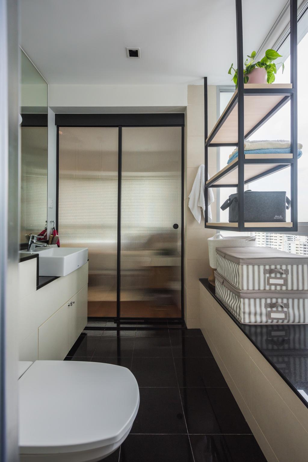 Contemporary, Condo, Bathroom, Twin Regency, Interior Designer, Stylemyspace, Scandinavian
