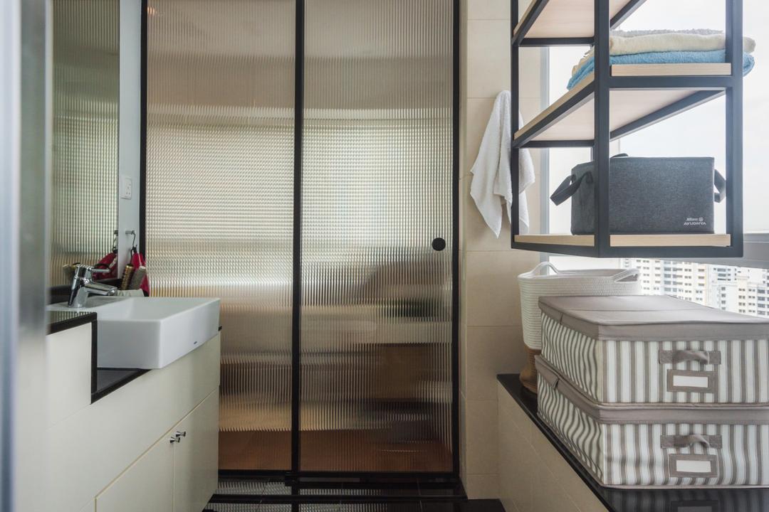 Twin Regency, Stylemyspace, Contemporary, Scandinavian, Bathroom, Condo
