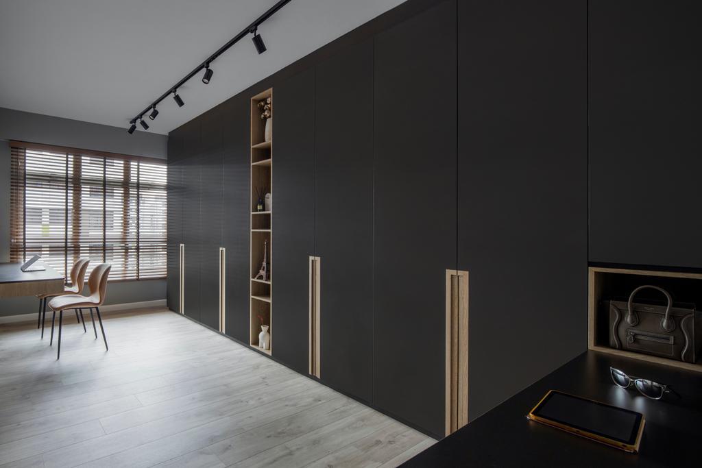 Modern, HDB, Bedroom, Tampines GreenView, Interior Designer, Versaform, Scandinavian