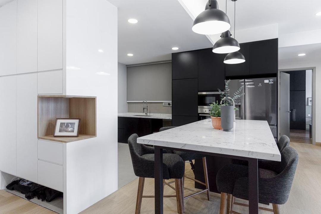 Sunway Mont Condominium, Mont Kiara by Interior Hunters Sdn Bhd