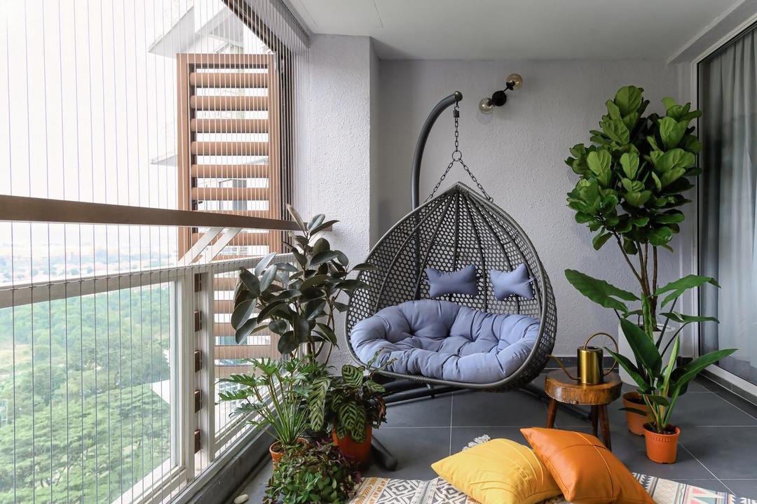 Bukit Utama, Bandar Utama, Interior Hunters Sdn Bhd, Modern, Apartment