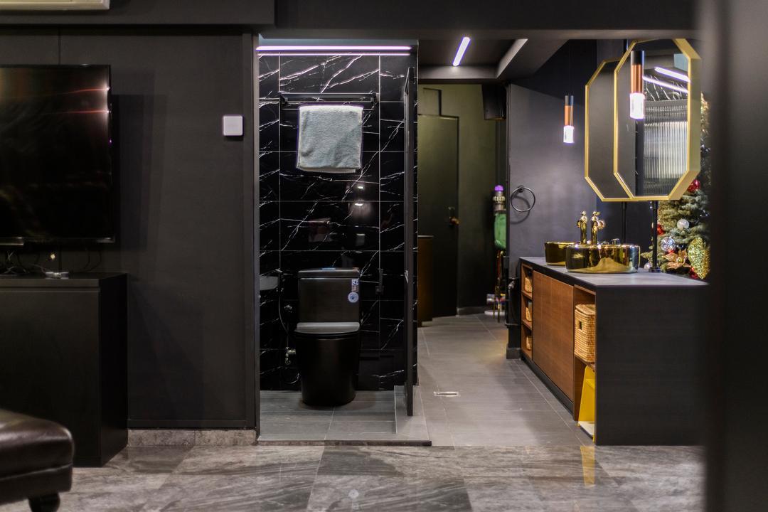 Woodlands Drive 44, E&S, Contemporary, Bathroom, HDB