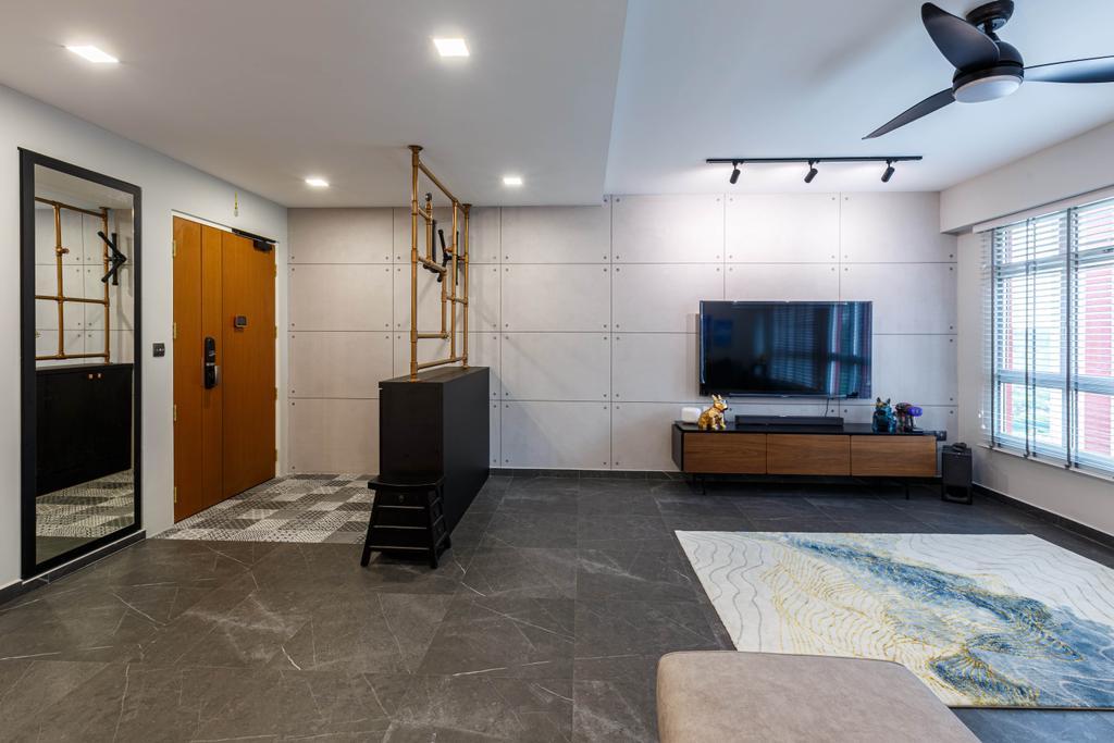 Contemporary, HDB, Living Room, Bukit Batok, Interior Designer, Place to Relax