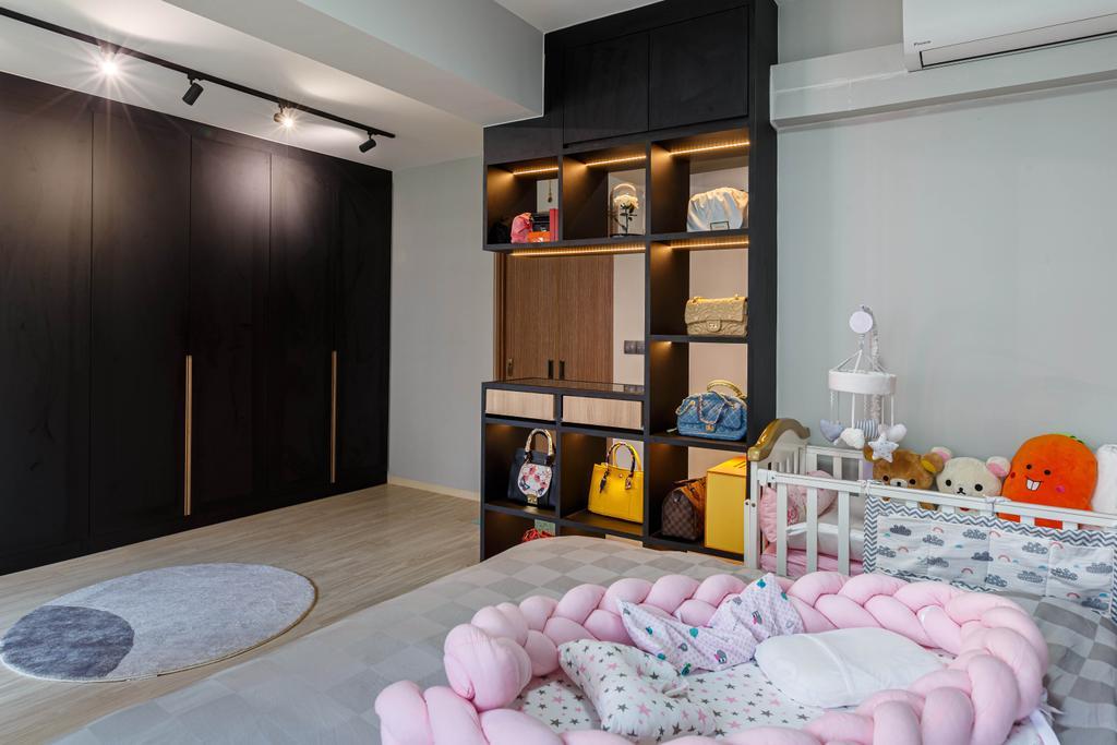 Contemporary, HDB, Bedroom, Bukit Batok, Interior Designer, Place to Relax