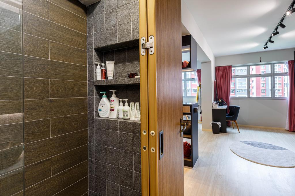 Contemporary, HDB, Bathroom, Bukit Batok, Interior Designer, Place to Relax