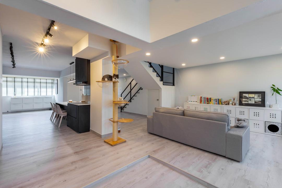 Tampines Avenue 5 Living Room Interior Design 14