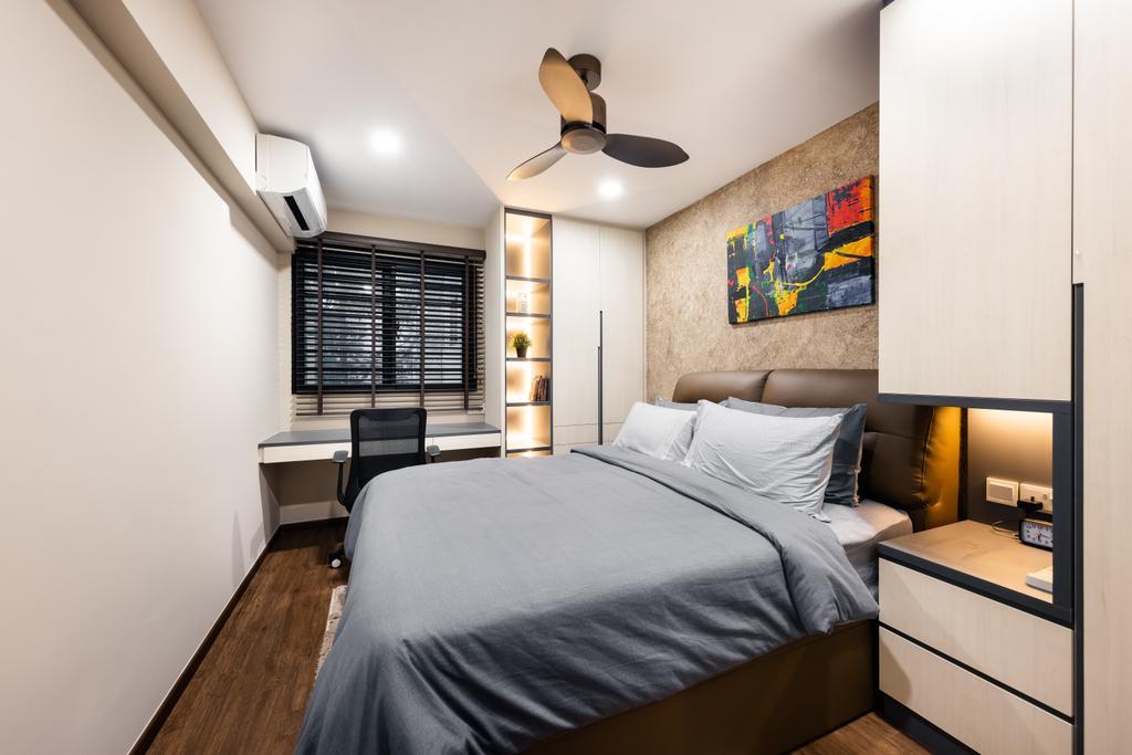 Modern, HDB, Bedroom, Woodlands Street 83, Interior Designer, U-Home Interior Design