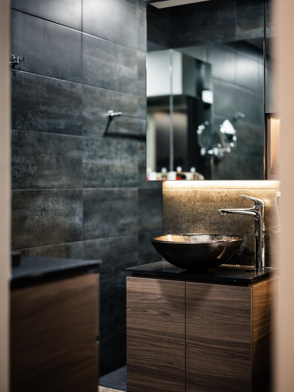 Modern, HDB, Bathroom, Woodlands Street 83, Interior Designer, U-Home Interior Design