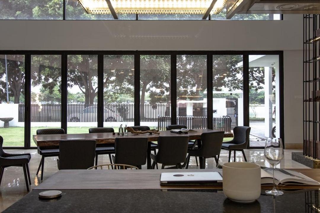 Bukit Raja Klang, Wuuu Studio, Modern, Contemporary, Dining Room, Landed