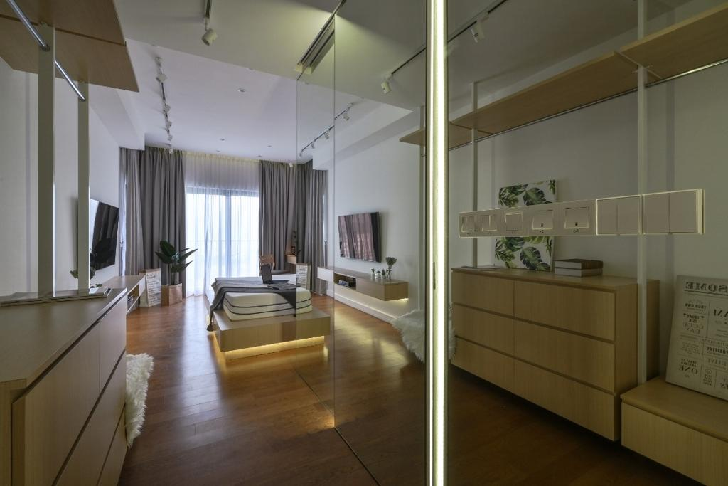 Minimalistic, Condo, WestSideIII, Desa Parkcity, Interior Designer, Amaze Design Sdn Bhd