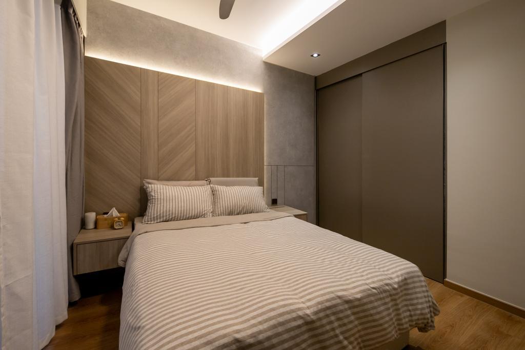 Modern, Condo, Bedroom, Rivercove Residences, Interior Designer, Space Atelier
