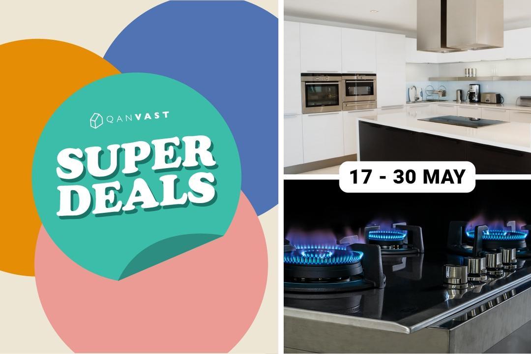 [Super Deals Special] $60 eCash voucher (on hob, hood, oven) 1