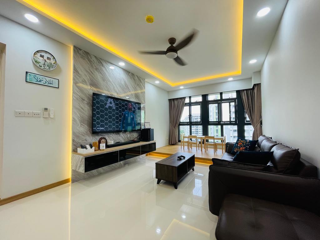 Modern, HDB, Living Room, Bidadari Park Drive, Interior Designer, Des & Co Interior