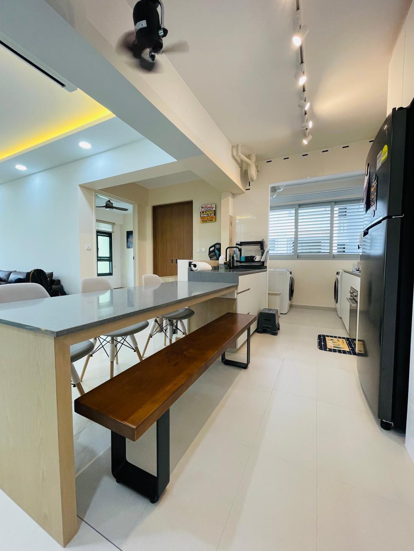 Modern, HDB, Dining Room, Bidadari Park Drive, Interior Designer, Des & Co Interior