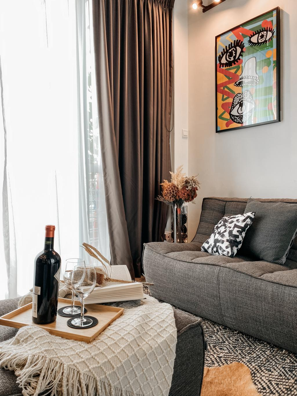 Contemporary, Condo, Living Room, The Ansley, Interior Designer, Posh Home, Modern