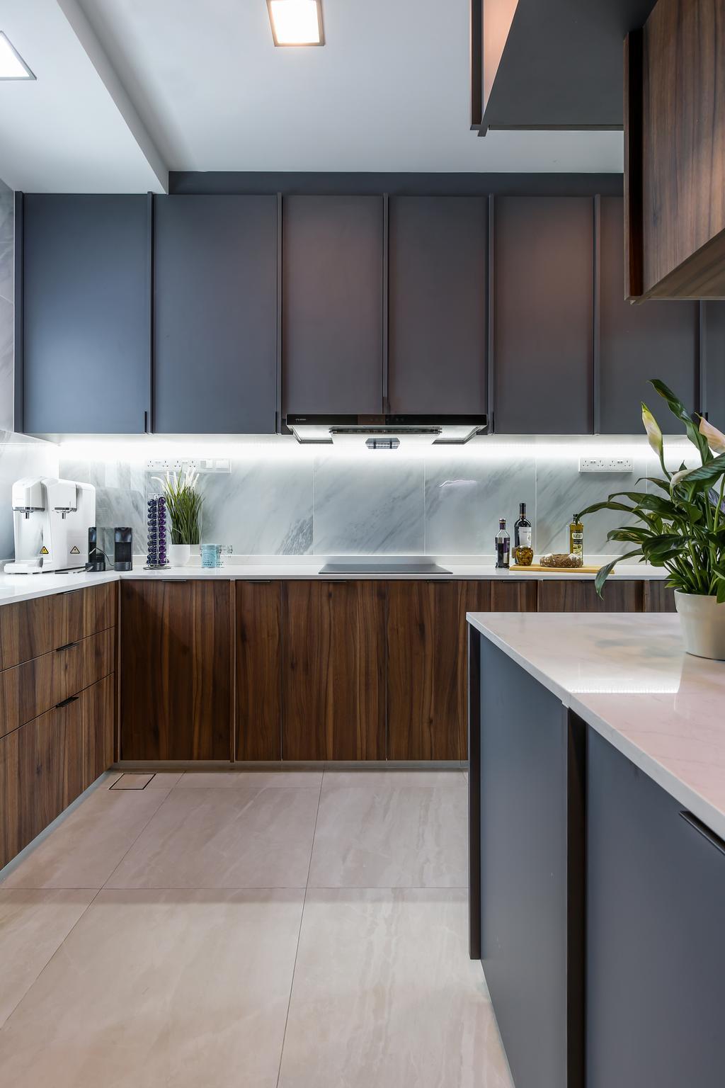 Contemporary, Condo, Kitchen, The Ansley, Interior Designer, Posh Home, Modern