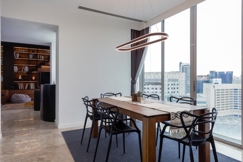 Contemporary, Condo, Dining Room, The Ansley, Interior Designer, Posh Home, Modern