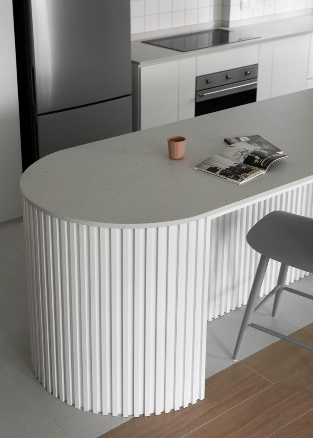Scandinavian, HDB, Kitchen, Bidadari Park Drive, Interior Designer, Ascend Design