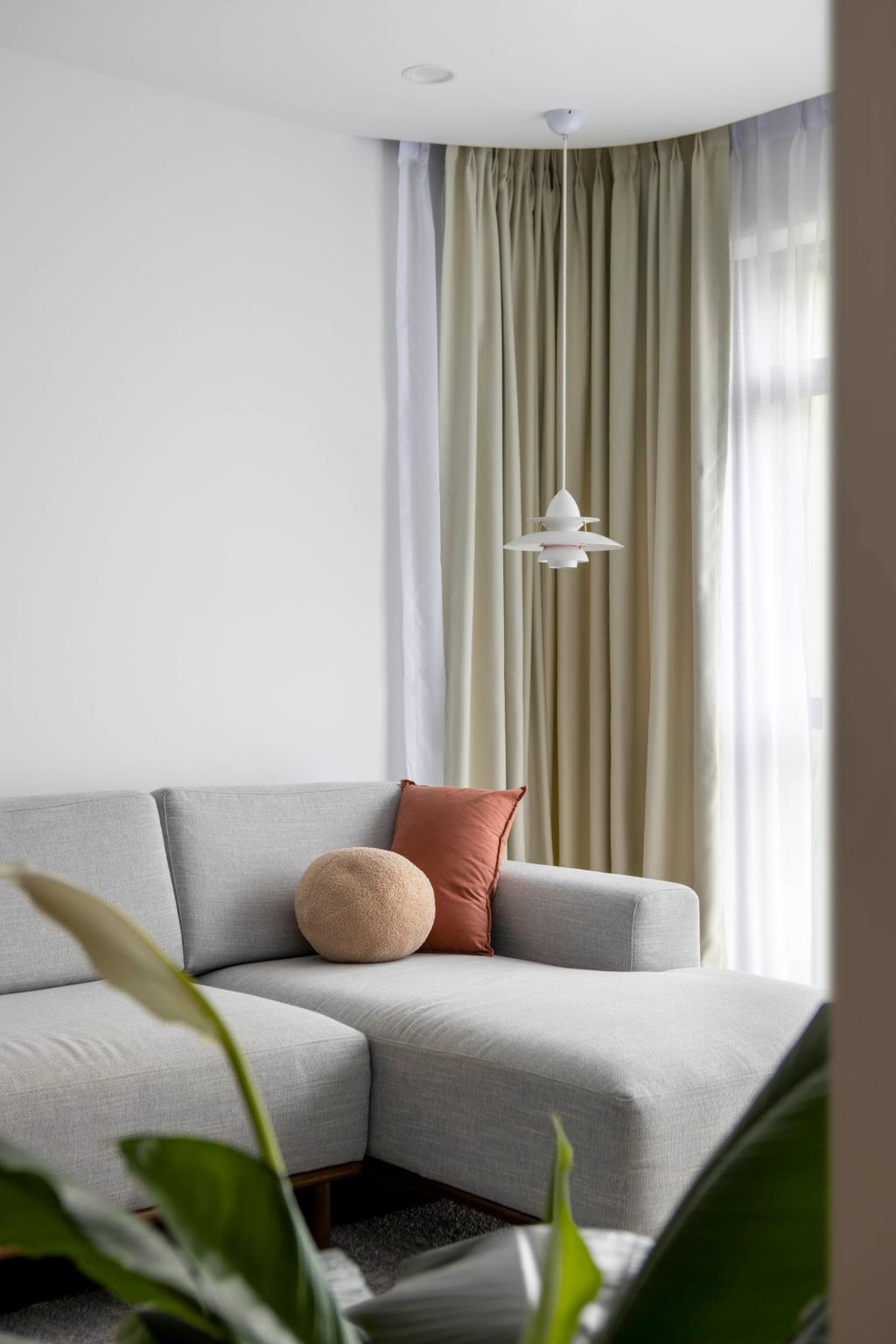 Scandinavian, HDB, Living Room, Bidadari Park Drive, Interior Designer, Ascend Design
