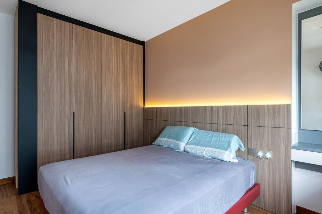Modern, HDB, Bedroom, Compassvale Lane, Interior Designer, Design Identity