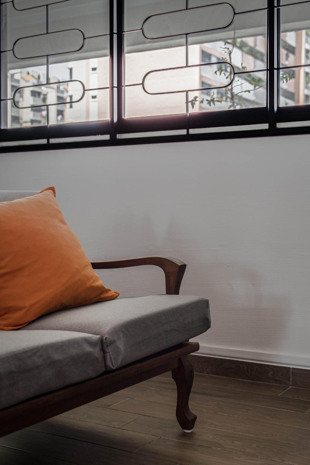 Modern, HDB, Living Room, Jalan Bahagia, Interior Designer, Fifth Avenue Interior, Eclectic