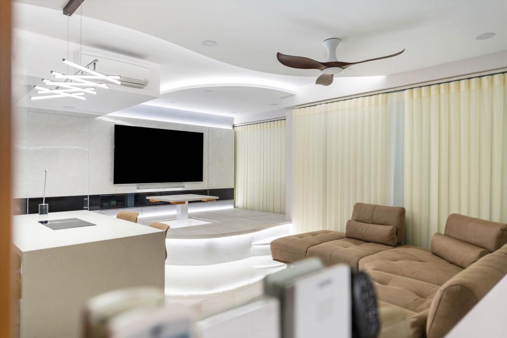 Modern, Condo, Living Room, Rivercove Residences, Interior Designer, Image Creative Design, Contemporary
