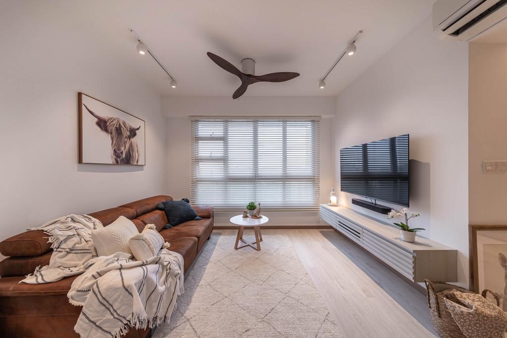 Scandinavian, HDB, Living Room, Ang Mo Kio Street 23, Interior Designer, Swiss Interior Design
