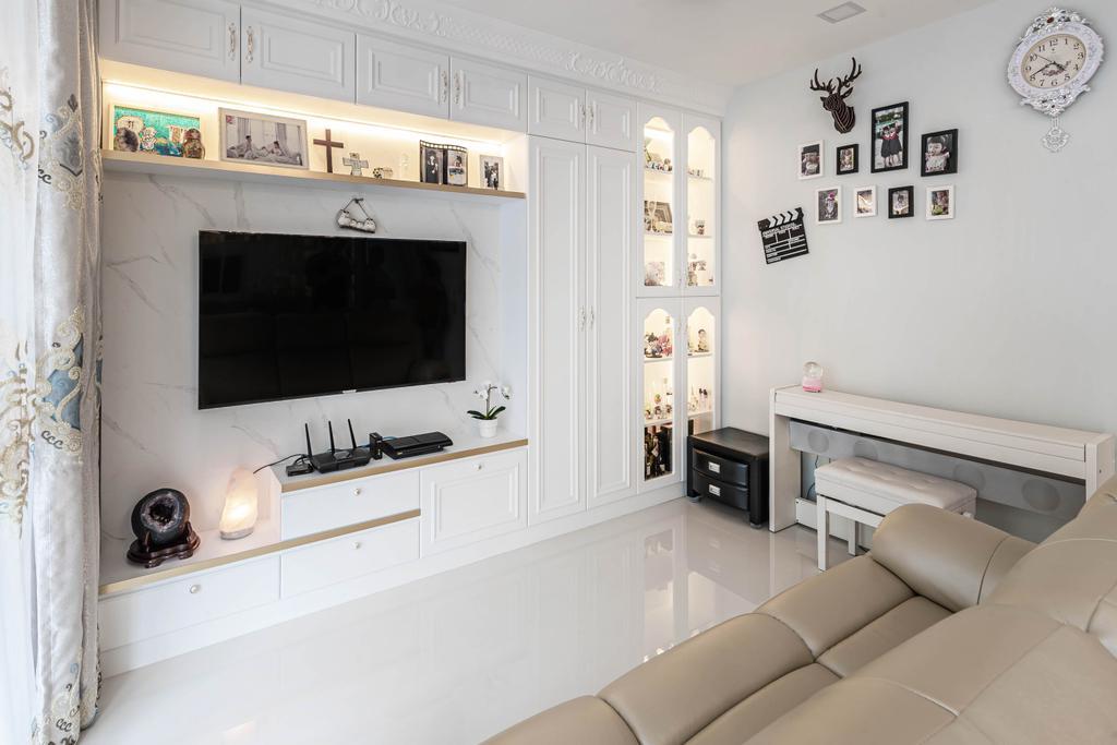 Contemporary, Condo, Living Room, Twin Waterfalls, Interior Designer, Swiss Interior Design
