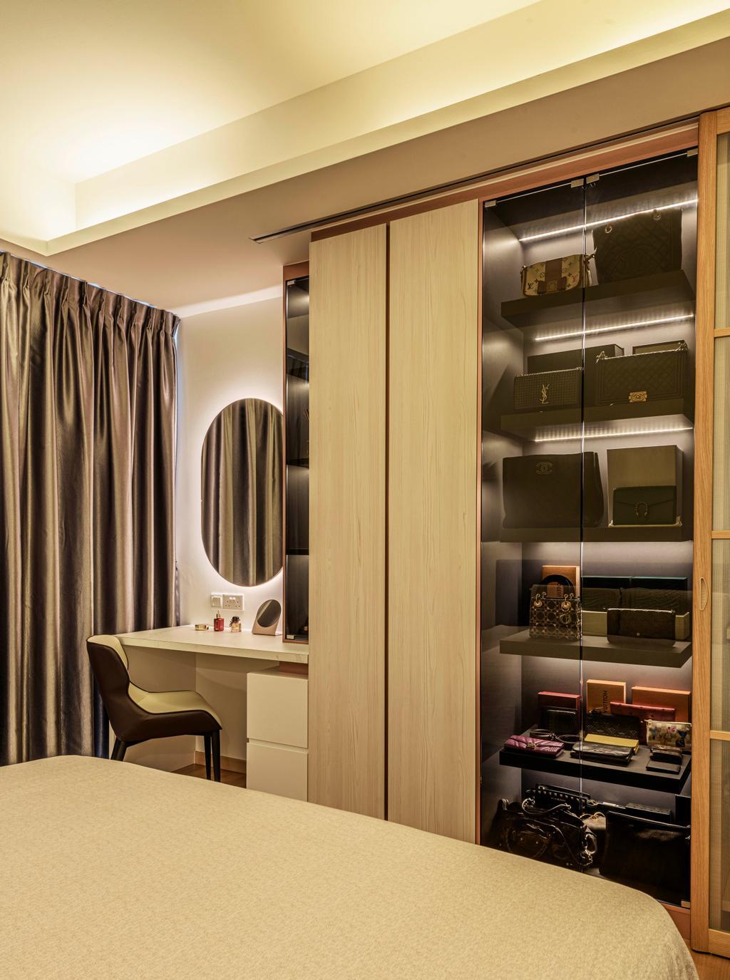 Modern, Condo, Bedroom, The Azure, Interior Designer, Divine & Glitz