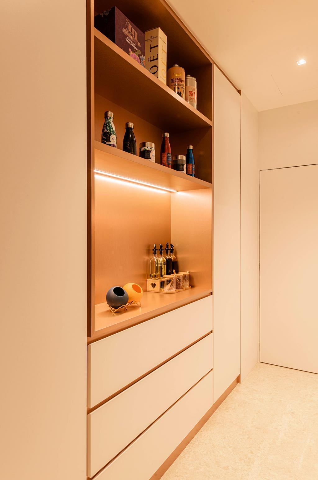 Modern, Condo, Kitchen, The Azure, Interior Designer, Divine & Glitz