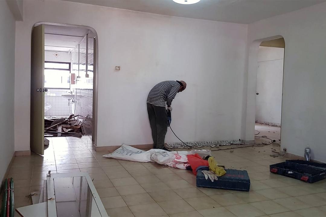 serangoon mickey mouse HDB renovation