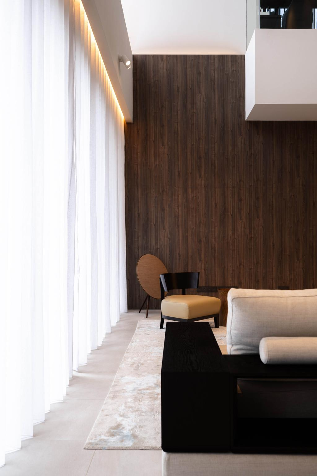 Contemporary, Landed, Living Room, Sunset Terrace, Interior Designer, Kuhlmann International | The Modular Builder