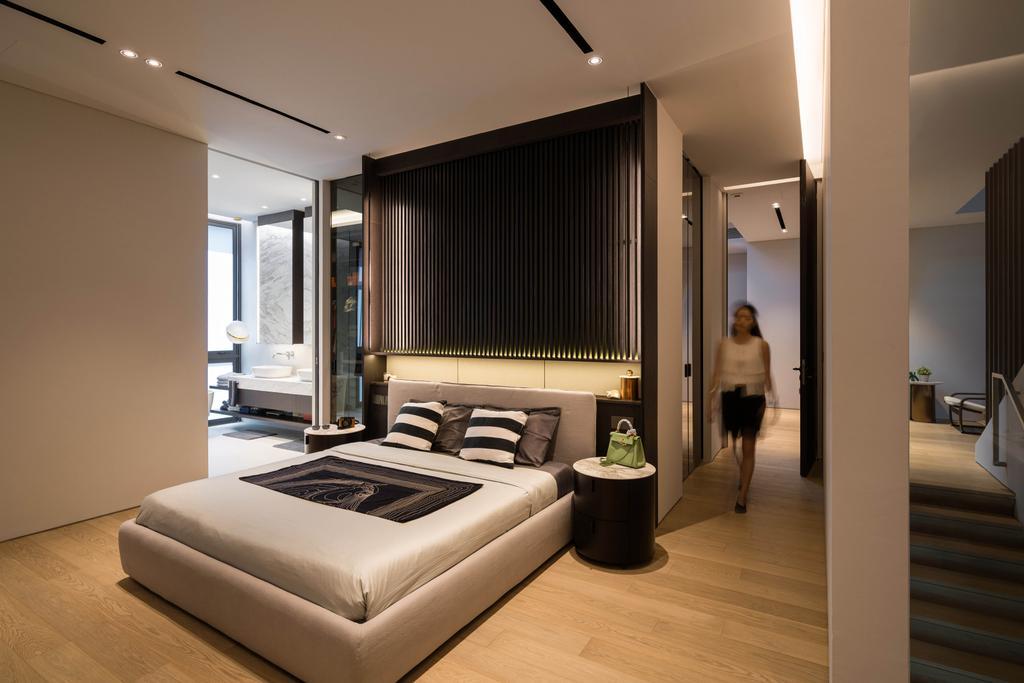 Contemporary, Landed, Bedroom, Sunset Terrace, Interior Designer, Kuhlmann International | The Modular Builder