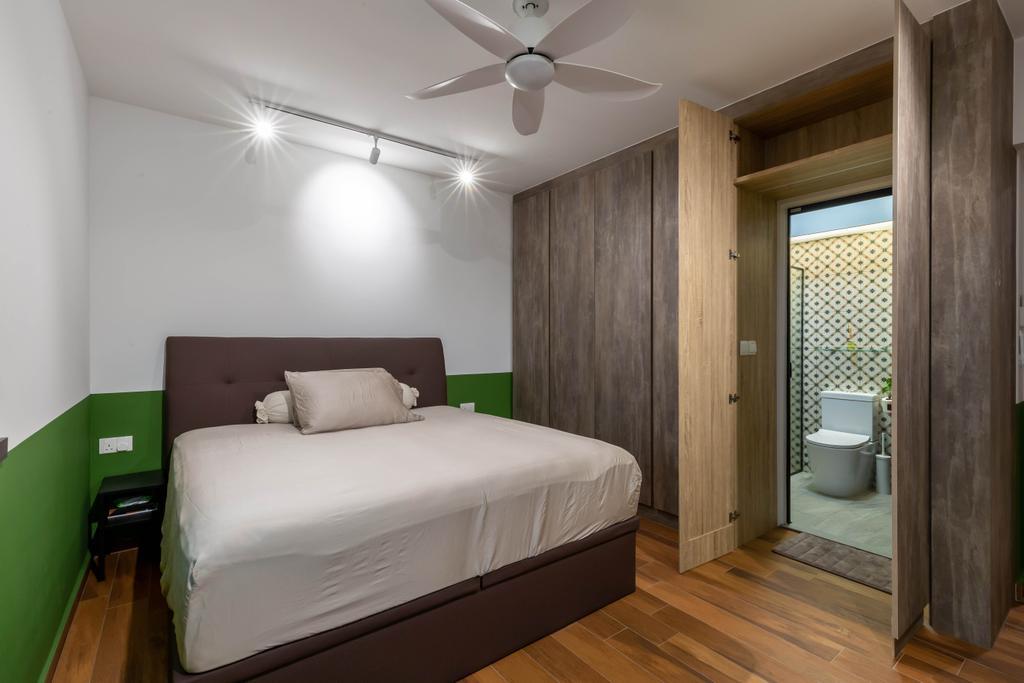 Retro, HDB, Bedroom, Tanglin Halt, Interior Designer, Inizio Atelier, Contemporary