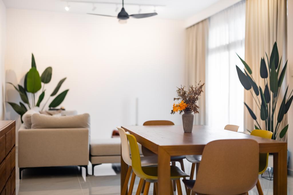 Scandinavian, Condo, Dining Room, Mandarin Gardens, Interior Designer, U-Home Interior Design
