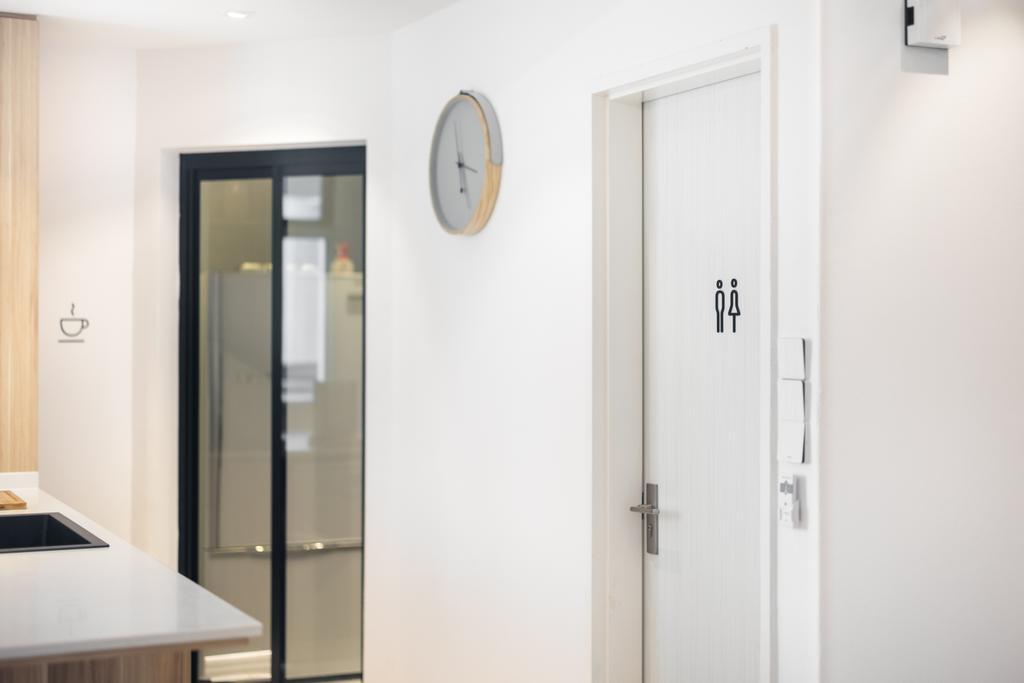 Scandinavian, Condo, Kitchen, Mandarin Gardens, Interior Designer, U-Home Interior Design