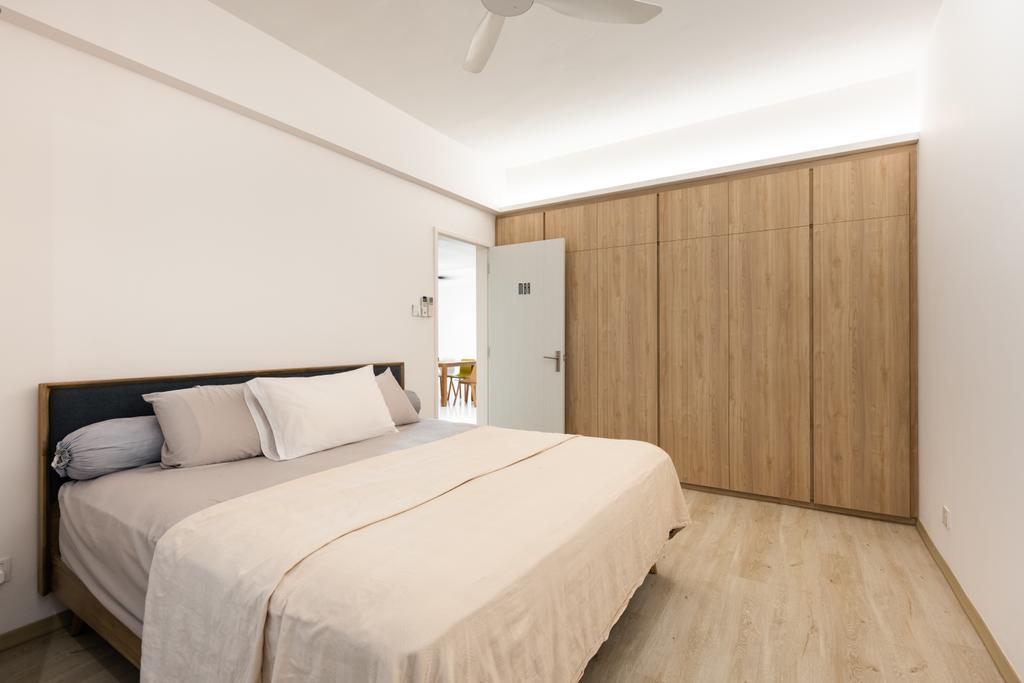 Scandinavian, Condo, Bedroom, Mandarin Gardens, Interior Designer, U-Home Interior Design