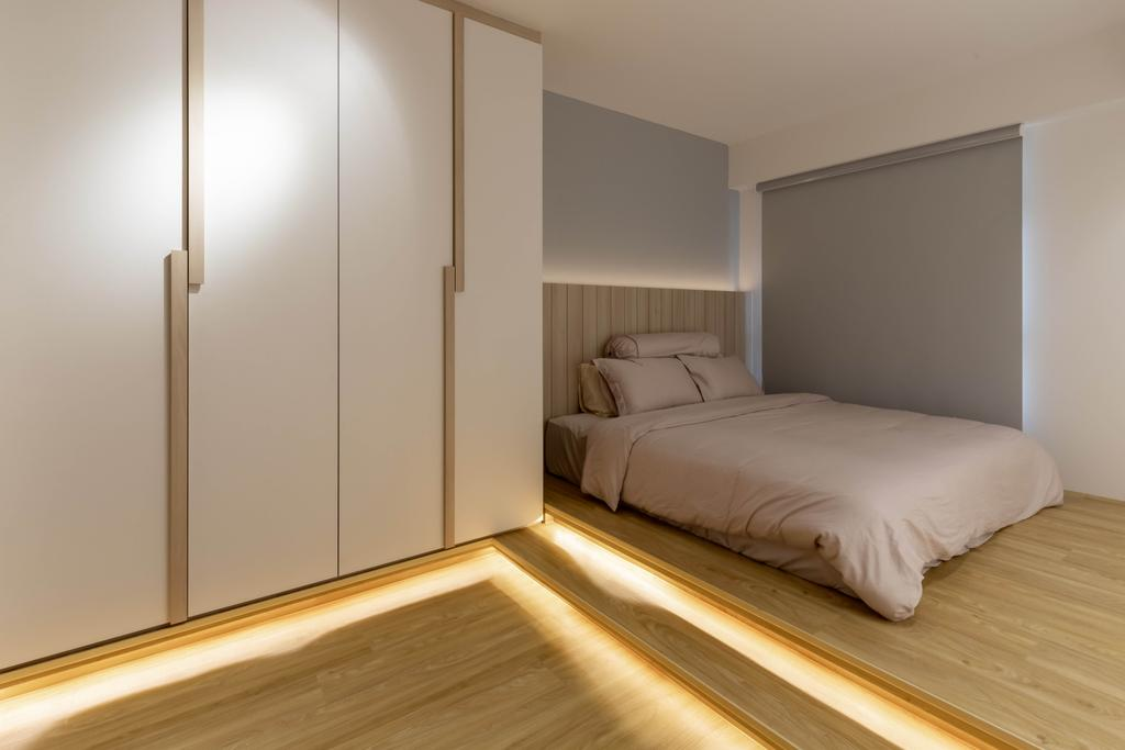 Scandinavian, HDB, Bedroom, Northshore Drive, Interior Designer, Design Identity