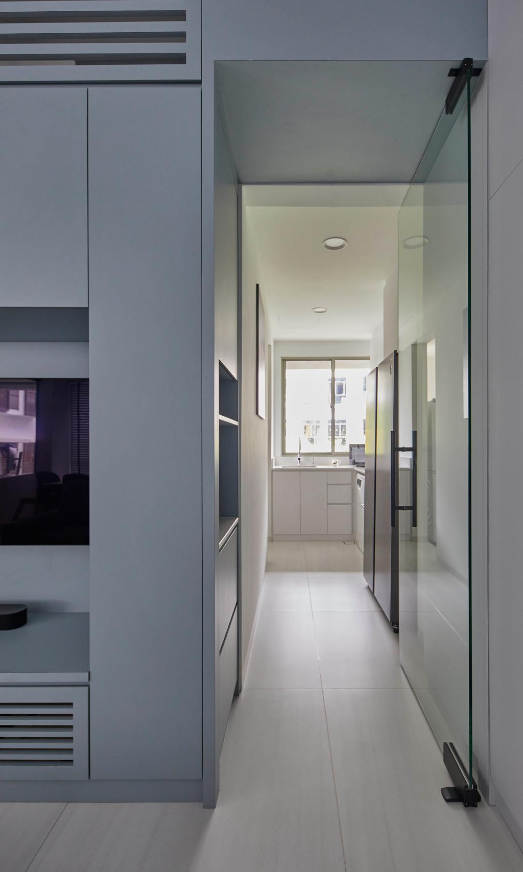 Contemporary, Condo, Living Room, Le Merritt, Interior Designer, The Interior Lab